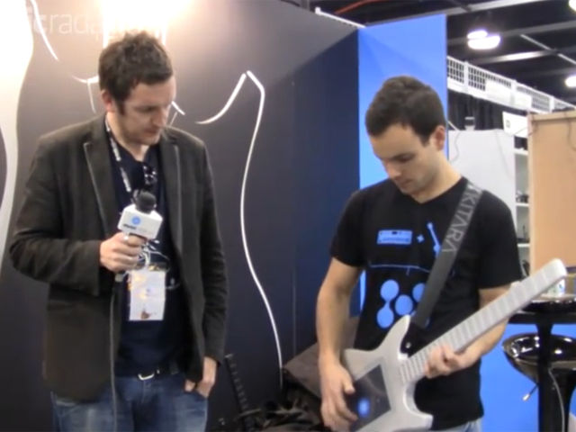 Misa Digital's stand at NAMM 2011