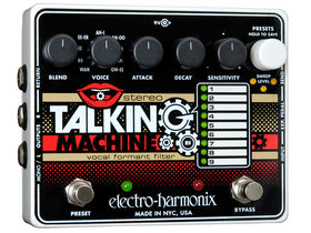 NAMM 2011: Electro-Harmonix Stereo Talking Machine unveiled