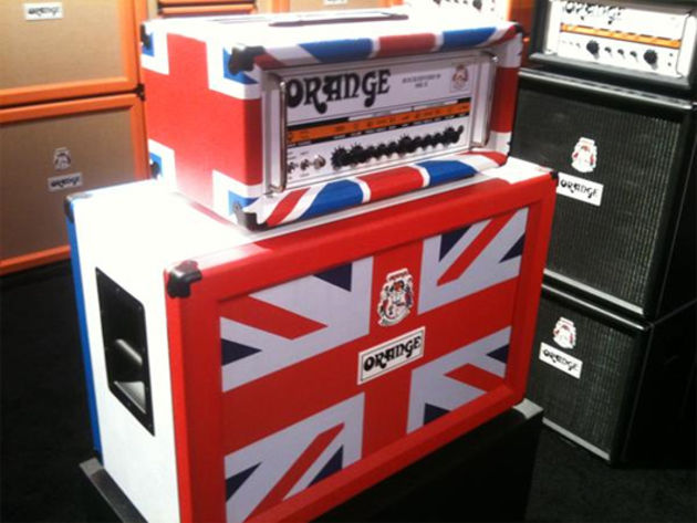 British amplification maestros Orange respresenting at NAMM 2011