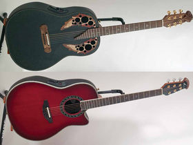 NAMM 2011: Ovation unveils eight new guitars