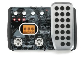 NAMM 2011: Zoom G2.1DM Dave Mustaine Signature multi-FX guitar pedal revealed