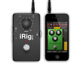 NAMM 2012: IK Multimedia presents iRig Stomp for iOS