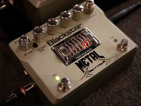 NAMM 2012 VIDEO: Blackstar HT-Metal pedal demo