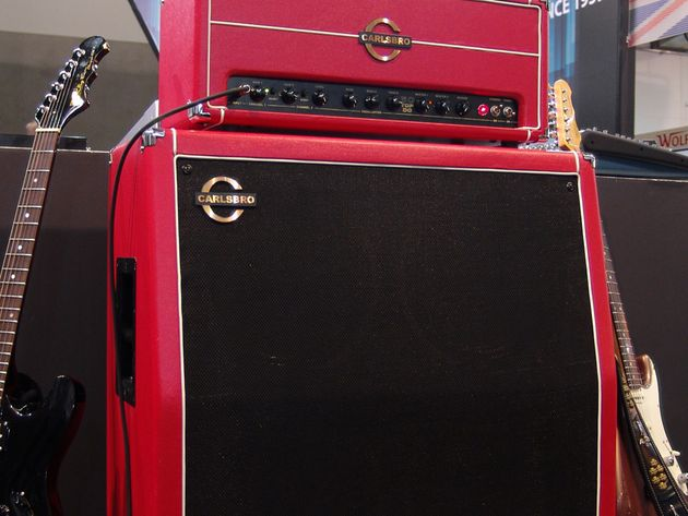 The reissued Carlsbro 50 Top with 4 x 12 cab.