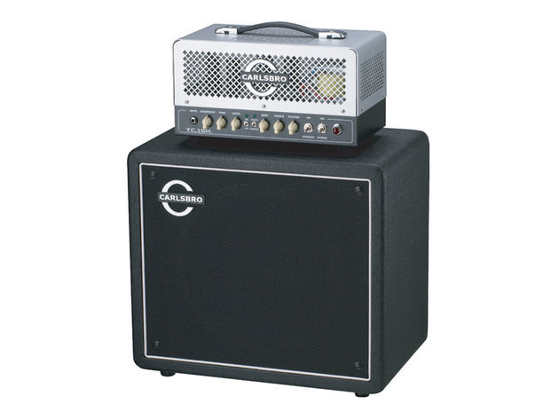 Carlsbro TC15/TC112 'classic' guitar amp head and cab.