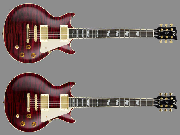 ESP KH-DC (below) & LTD KH-DC (above)