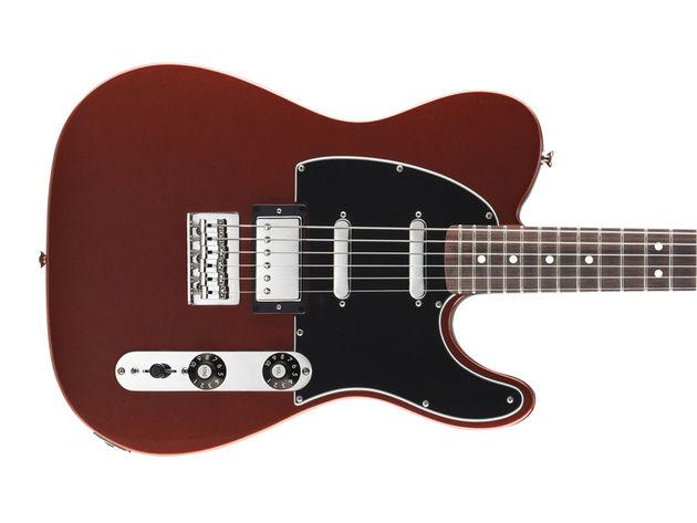 Fender Blacktop Baritone Telecaster - body