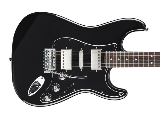 Fender Blacktop Stratocaster HSH - body