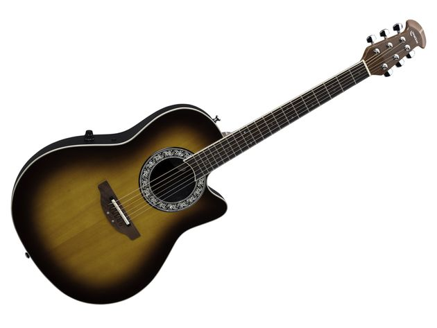 The Standard Balladeer sports a gorgeous sunburst finish.