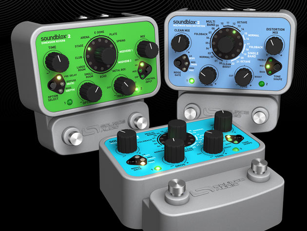 Source Audio's new Soundblox 2 lineup