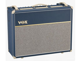 NAMM 2012: Vox releases limited edition AC15C1-BL and AC30C2-BL Custom Series guitar amps