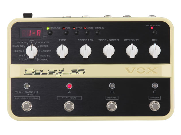 The DelayLab comes packed with vintage and modern effects.
