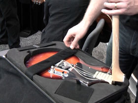 NAMM 2012 VIDEO: Voyage-Air folding travel guitars demoed