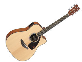 NAMM 2012: Yamaha FGX700SC Solid Sitka Spruce Top Acoustic-Electric