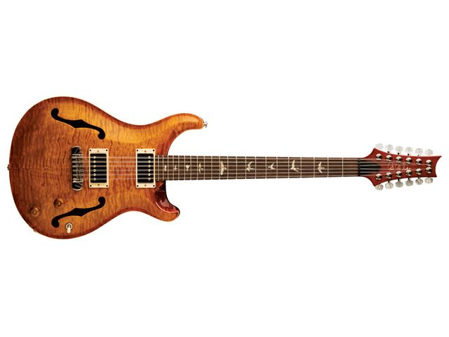 New, high-spec hollowbody 12 string.