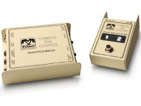 Palmer releases Two-In-One amp switcher pedal