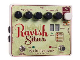 Electro-Harmonix posts official Ravish Sitar video demo