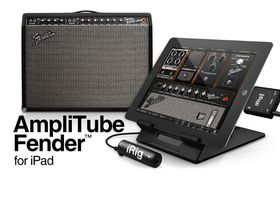 IK Multimedia announces AmpliTube Fender 1.2