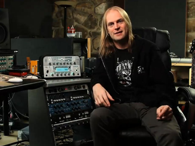 Testament producer and all-round metal guru Andy Sneap