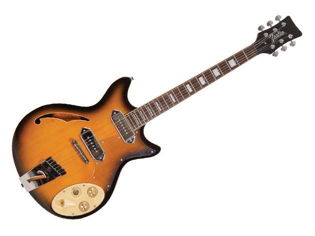 Italia Fiorano Guitar (Sunburst)
