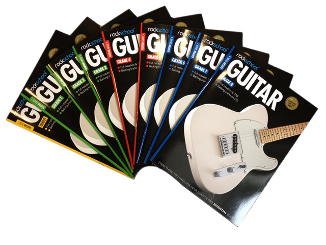 Rockschool guitar books competition