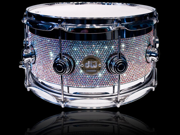 DW Collector's Series drums... but shinier