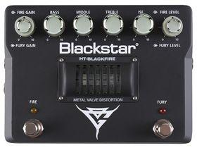Blackstar unveils Gus G HT-Blackfire valve overdrive pedal