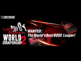 Boss launches Loop Station World Championship 2