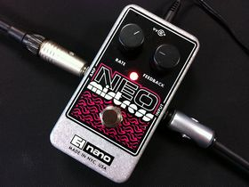 FIRST LOOK VIDEO: Electro-Harmonix Neo Mistress flanger pedal