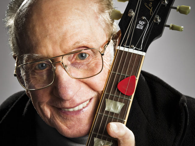 Les Paul, NYC, 2008