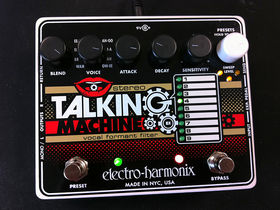 FIRST LOOK VIDEO: Electro-Harmonix Stereo Talking Machine pedal