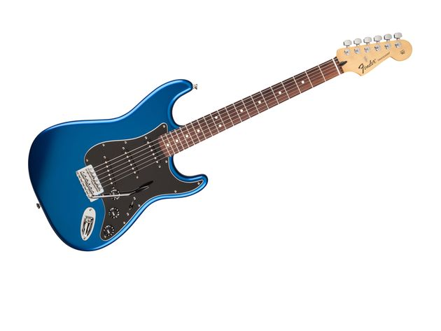 Standard Stratocaster in Ocean Blue Candy