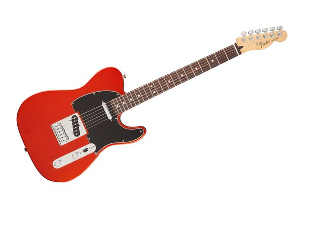 Standard Telecaster in Flame Orange