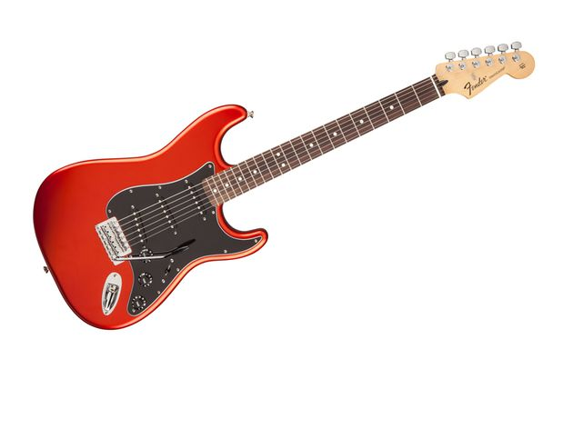 Standard Stratocaster in Flame Orange