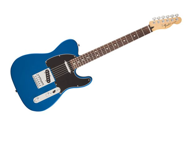 Standard Telecaster in Ocean Blue Candy