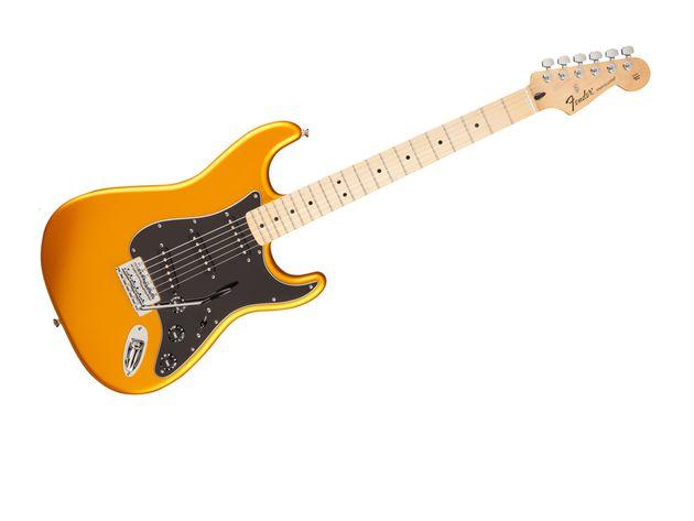 Standard Stratocaster in Blaze Gold