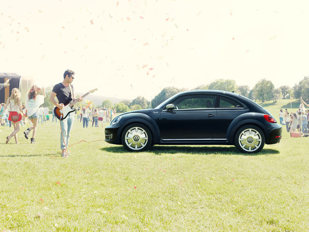 VW Beetle Fender Edition - Stratocaster not included