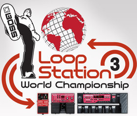Boss loop station world championship 3 poster