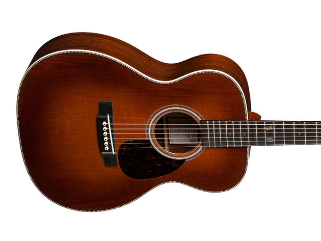The Martin OM Jeff Daniels Custom Artist Edition - body