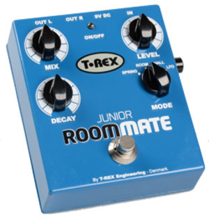 T-Rex junior room-mate reverb effects pedal