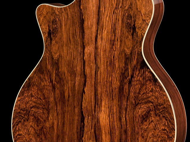 Madagascar rosewood is used on the 700 Series