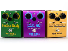 Dunlop re-introduces Way Huge effects pedals