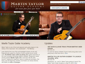 Dr Martin Taylor MBE announces Online Guitar Academy