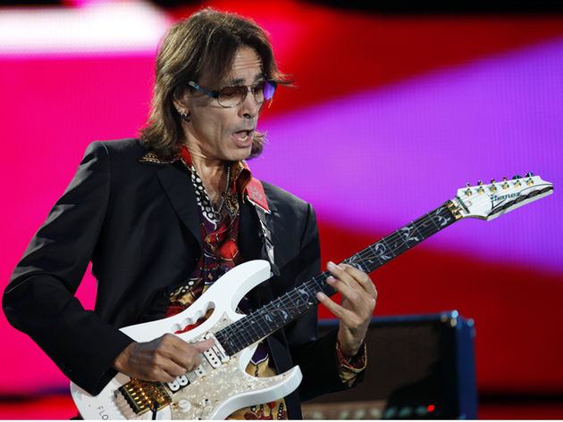 Steve Vai is among the charity's patrons