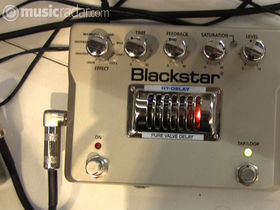 Musikmesse 2010: New Blackstar HT pedals on video