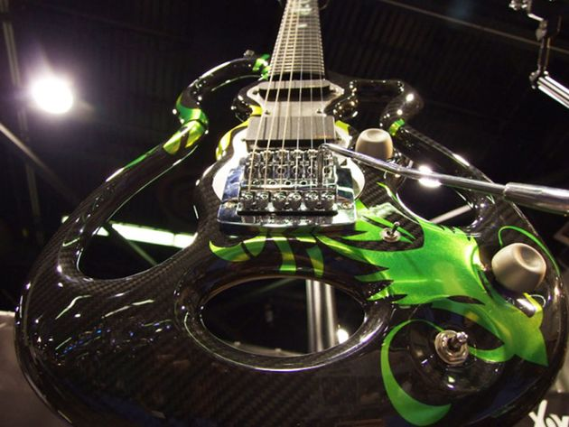 The Dragon is a high octane player's guitar