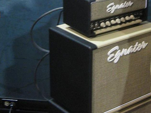 Egnator amps are used by the likes of Stevie Ray Vaughn and Steve Vai
