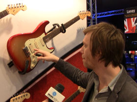 Musikmesse 2010: Fender's American Deluxe series on video