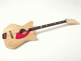 The Loog Guitar: 3-string acoustic designed for kids