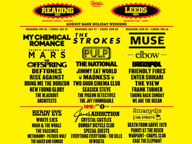 Reading and Leeds Festival 2011 headliners announced